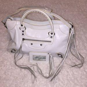 Balenciaga Paris leather bag N0754C 115748